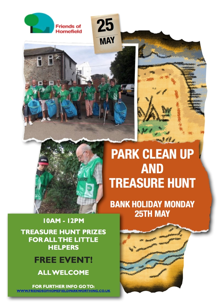 Park Clean Up Poster
