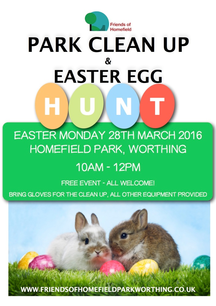 Park Clean Up Poster 2016